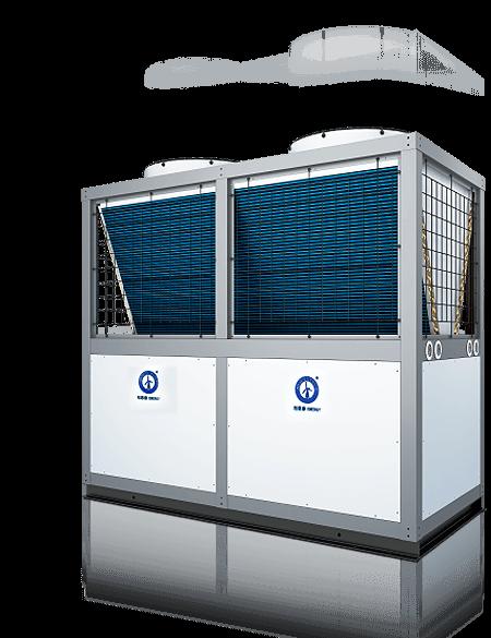 越邦机电-空气能中央热水系统