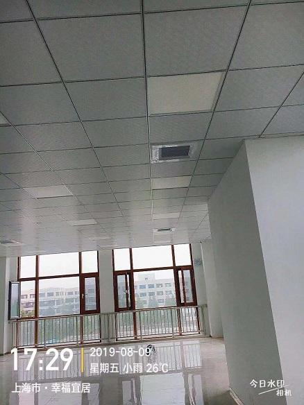 上海美客铝制商用中央空调安装工程