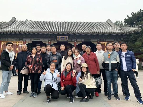 越邦机电员工北京之旅合照