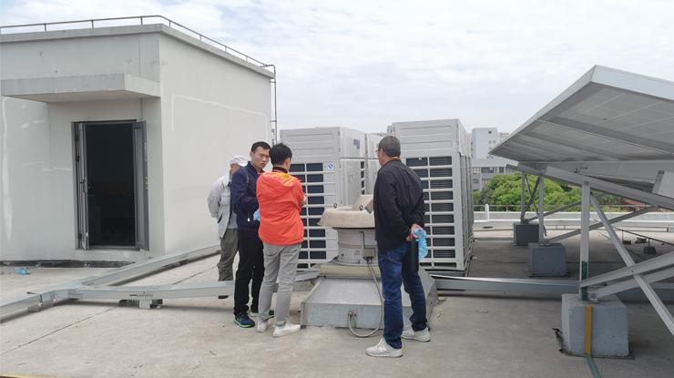 越邦机电中央空调安装