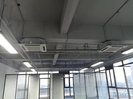 中铁诺德国际中心商用办公楼中央空调安装工程效果图