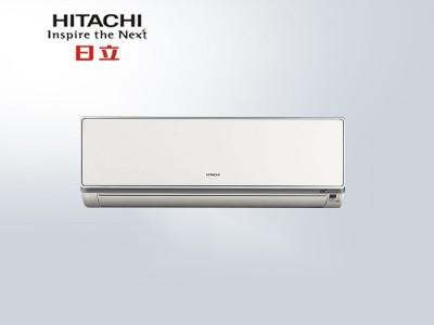 日立家用空调挂机卧室35NVNW变频1.5匹直流自清洁低噪音
