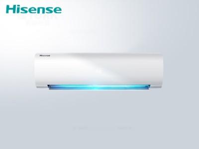 海信KFR-26GW/E25A3a大1匹/变频/急速冷暖/小黑键系列舒适睡眠空调