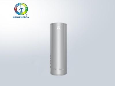 纽恩泰热泵F系列1.5匹150升水箱圆筒空气源热泵