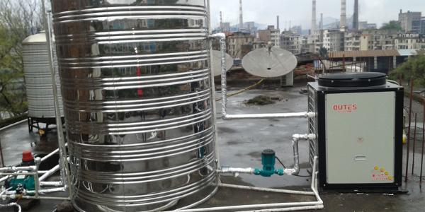 自己设计安装商用空气能热泵热水系统,结果你可猜的到?