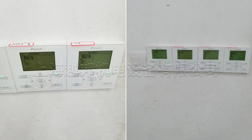 阿迪达斯中央空调系统控制器测试
