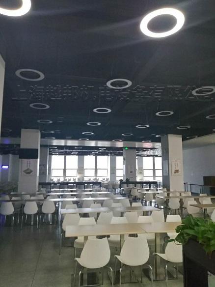 华硕办公楼中央空调安装室内图