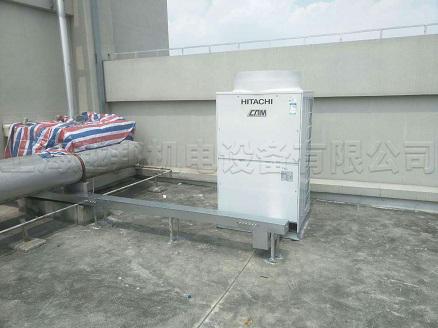 华硕办公楼中央空调室外机