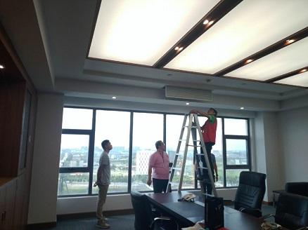 华硕中央空调安装室内图