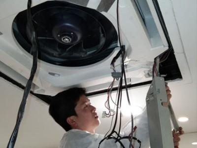 普恩海汇中央空调保养+维修工程-上海越邦机电