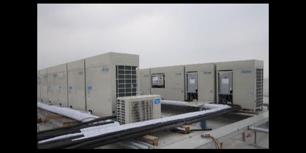 变频多联机中央空调安装