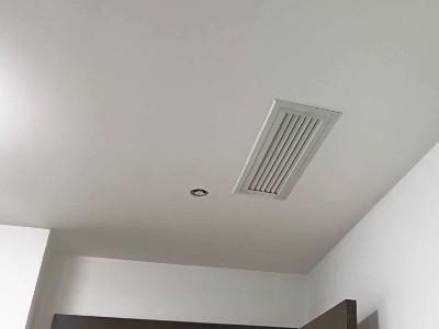 鸿缘电子美的中央空调安装工程