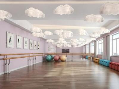舞蹈室美的中央空调安装工程
