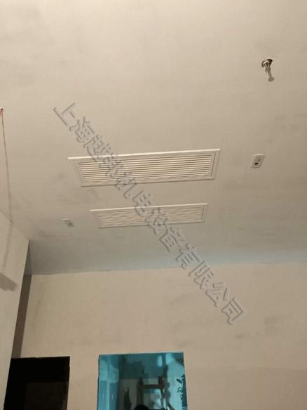 舞蹈室美的中央空调安装