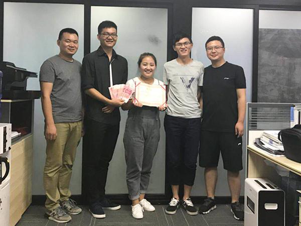 越邦机电销售团队