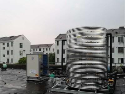 上海半亩田空气能热泵安装工程