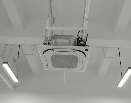 美的商用中央空调安装